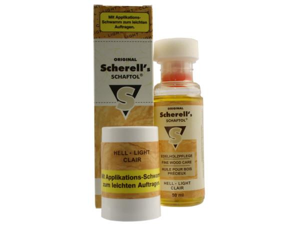 Scherell`s SCHAFTOL hell 50 ml inkl. Applikationsschwamm