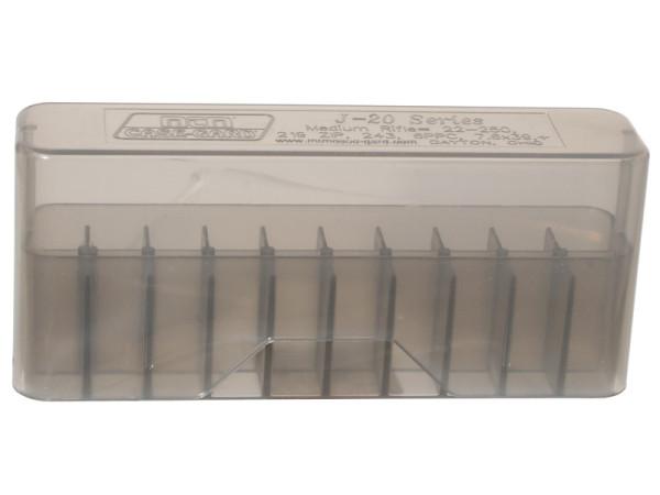 MTM Patronenbox mit Stülpdeckel J-20-M