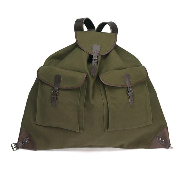 Rucksack Standart aus Segeltuch - groß