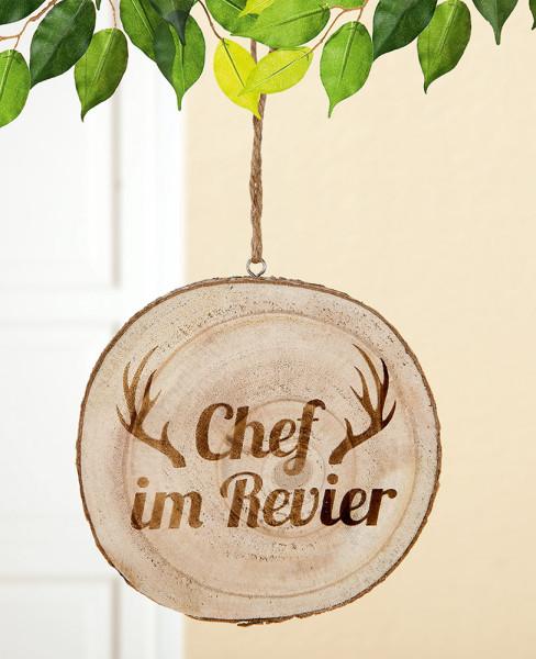 """Baumscheibe """"Chef im Revier"""""""