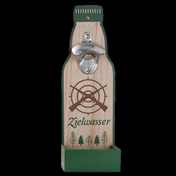 """Wand Flaschenöffner """"Zielwasser"""""""
