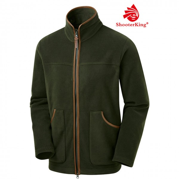 SHOOTERKING PERFORMANCE Herren Fleece Jacke in grün