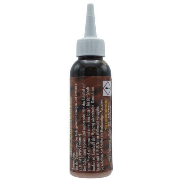 Lupus Schaftöl Nussbaum dunkel 100 ml
