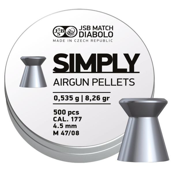 JSB Simply LG Diabolo Kaliber 4,5 mm - 500 Stück
