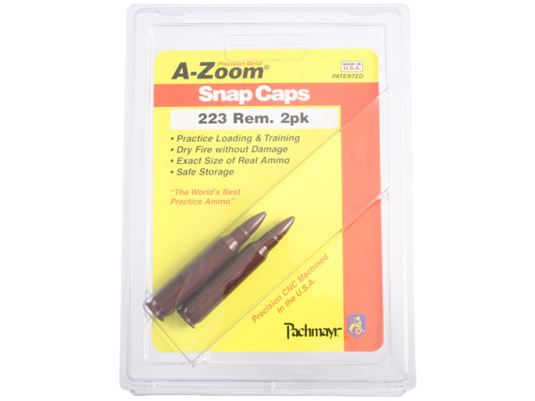 A-Zoom Pufferpatrone Kal. 5,56 NATO / .223 Remington (2er Packung)