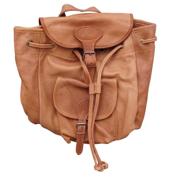 Rucksack aus hochwertigstem Yakleder - handgefertigt