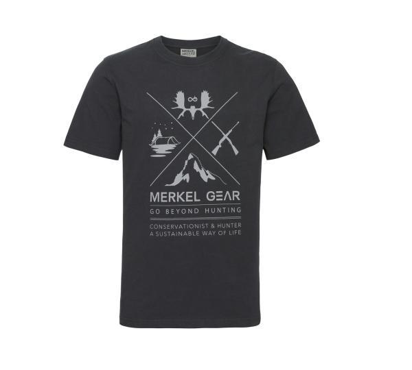Merkel Gear T-Shirt Cross Hunting