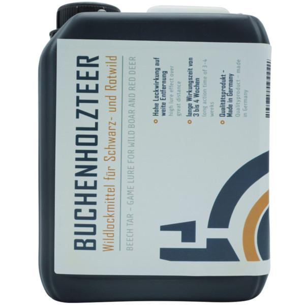 Buchenholzteer für Sauen und Rotwild im 2,5 Liter Kanister