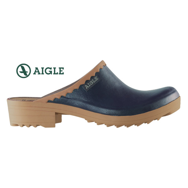 AIGLE VICTORINE Damen-Clogs in marine