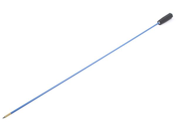 Federstahl-Putzstock Langwaffe dia. 6 mm mit Kunststoffgriff mit 1.120 mm Wischlänge