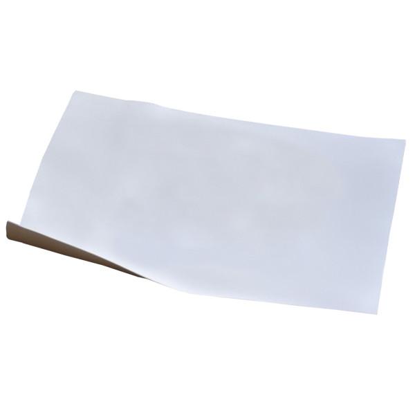 MIPOPLAST Scheibenfolie weiß - 125 cm breit - 25 Meter lang