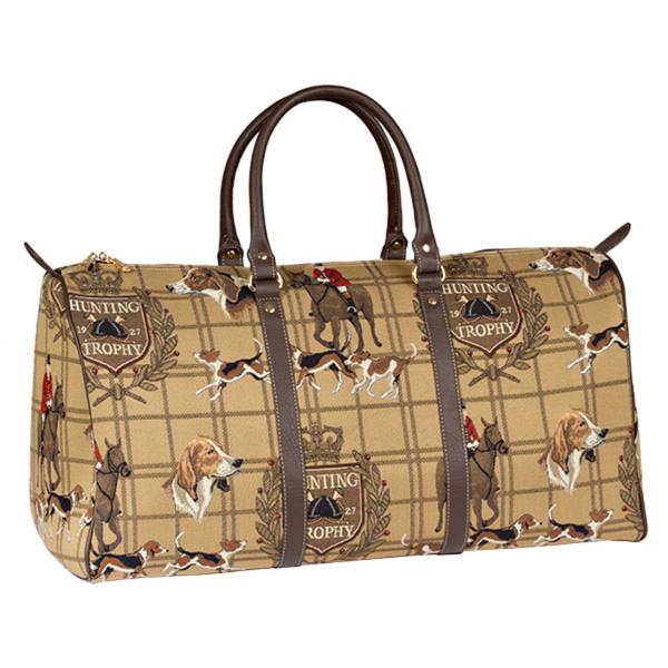 Elegante Reisetasche Hunting aus 100 % Polyester