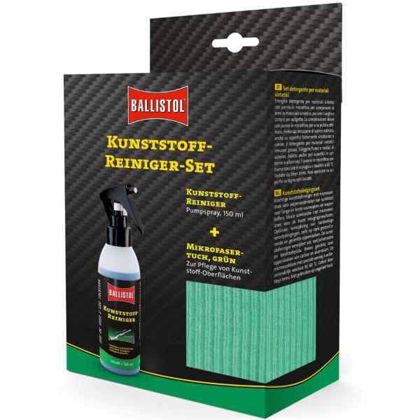 Ballistol Kunststoffreiniger-Set