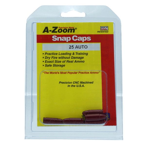 A-Zoom Pufferpatrone Kal. .25 Auto (5er Packung)