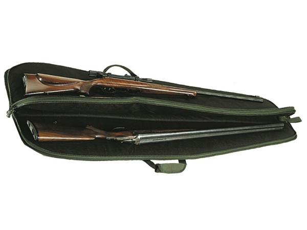 Gewehrfutteral aus Nylon 112cm für 2 Gewehre grün