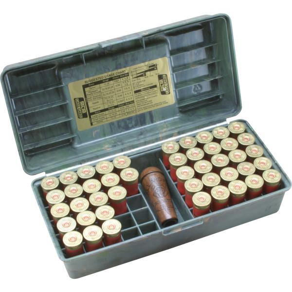 MTM Patronenbox mit Klappdeckel SF-12-09 camo