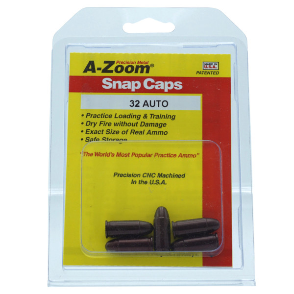 A-Zoom Pufferpatrone Kal. .32 ACP / 7,65 Browning (5er Packung)