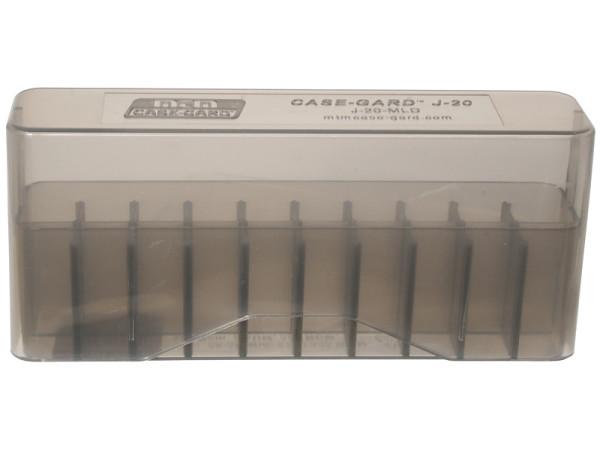 MTM Patronenbox mit Stülpdeckel J-20-MLD-41 grau-transparent