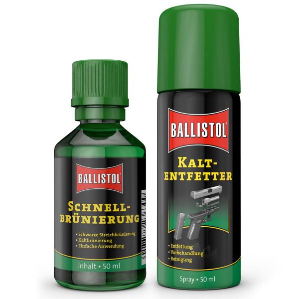 Ballistol Klever - Schnellbrünierung + Kaltentfetter 50 ml