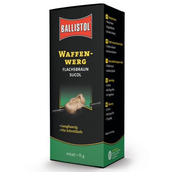 Sucol Flintenreinigungswerg braun 75 g