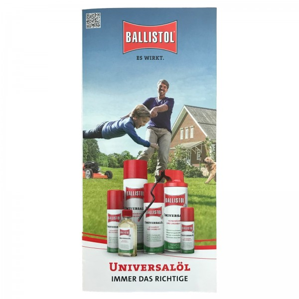 Ballistol Universalöl Flyer