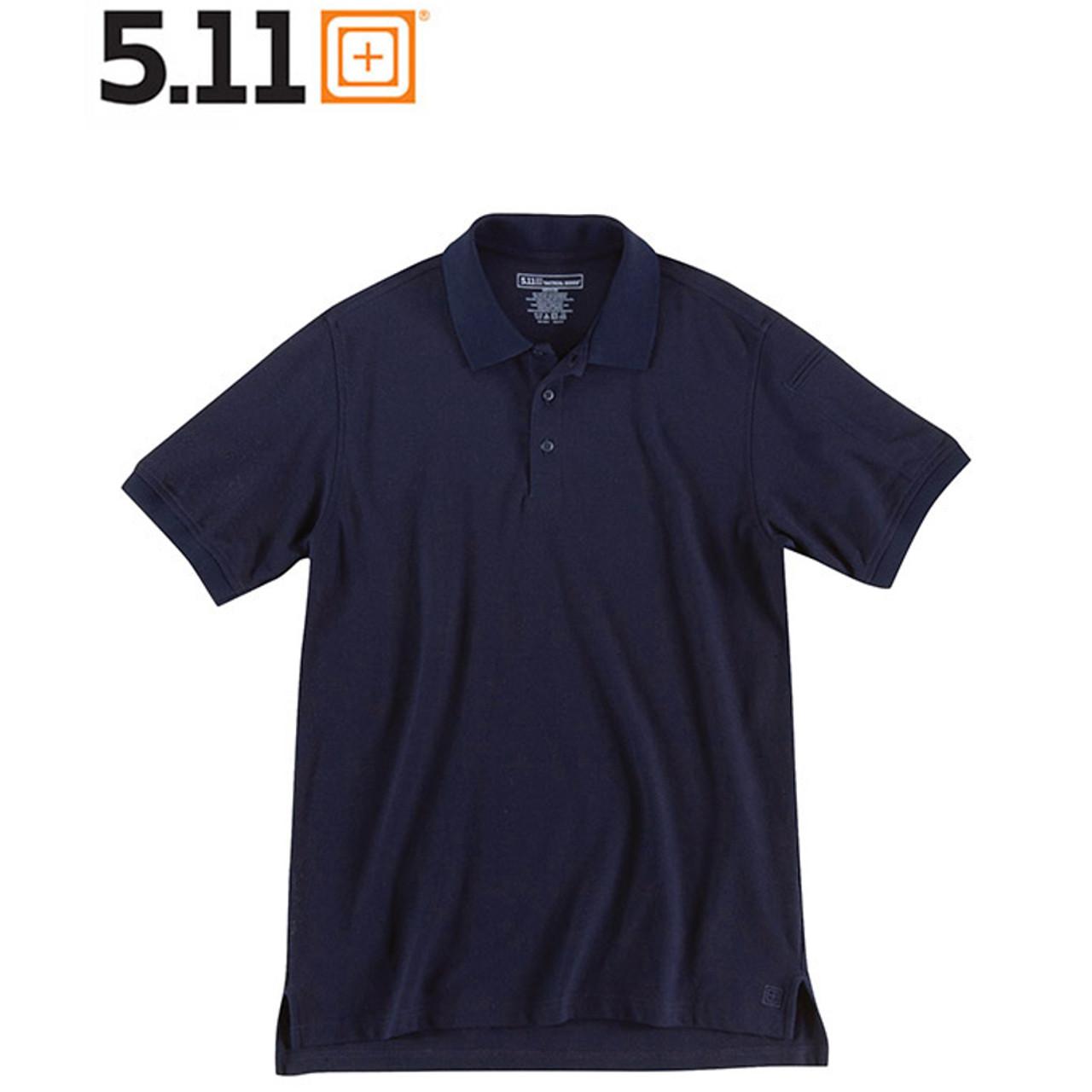 5.11 UTILITY POLO Kurzarm-Shirt dark navy