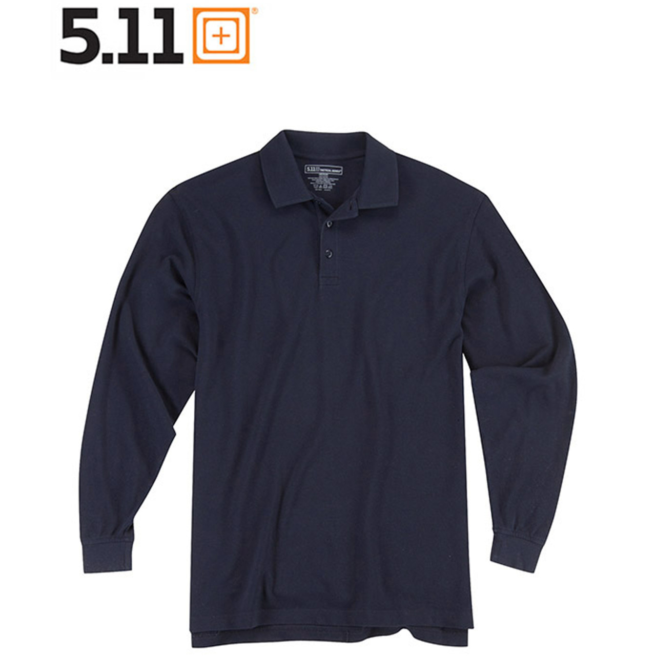 5.11 UTILITY POLO Langarm-Shirt dark navy
