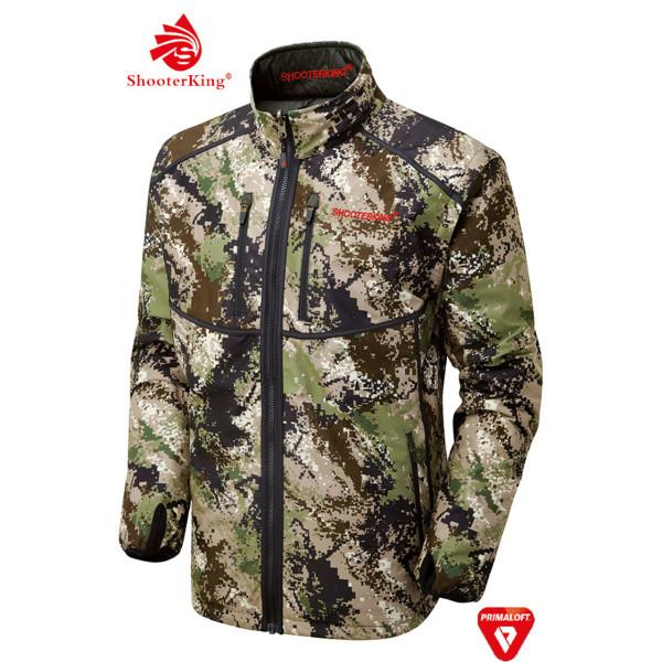 SHOOTERKING Digitex Wendejacke/-weste für Herren in Camouflage/braun