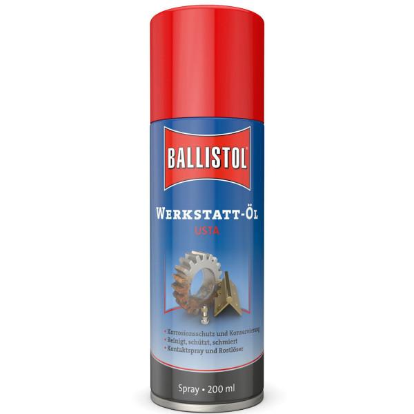 Ballistol USTA Werkstatt-Öl Spray 200 ml