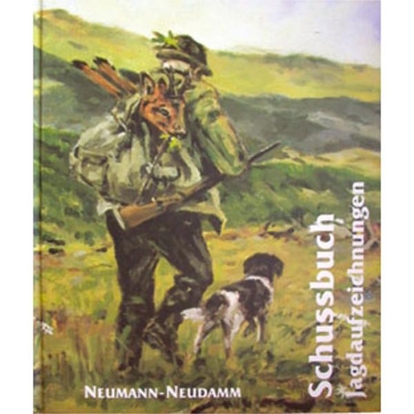 Schuss- und Jagdtagebuch illustriert von Hannes Liederley - 128 Seiten