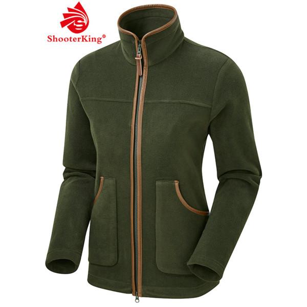 SHOOTERKING PERFORMANCE Damen Fleece Jacke in grün