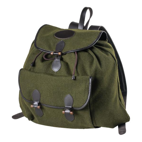 Lautloser Rucksack ohne Metall mit einer Außentasche