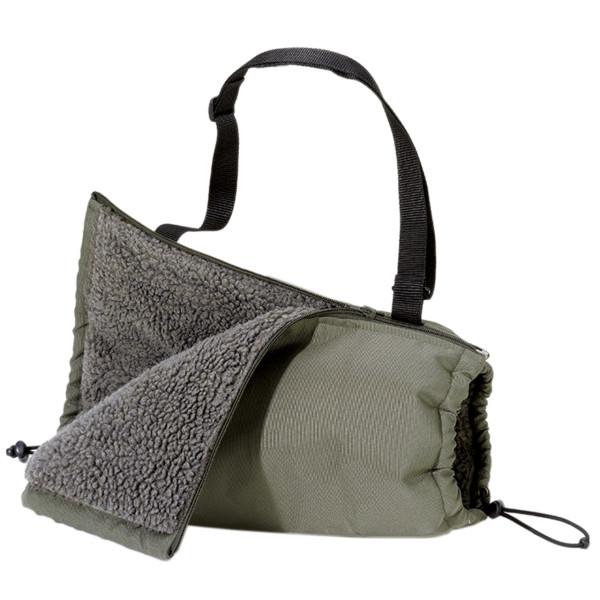 AKAH Muff-Sitzkissen aus Polyurethan und Fleece