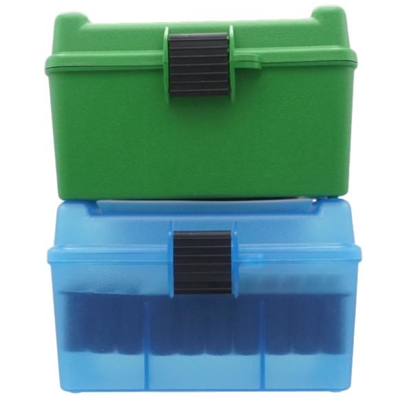 MTM Patronenbox mit Klappdeckel H50-RL