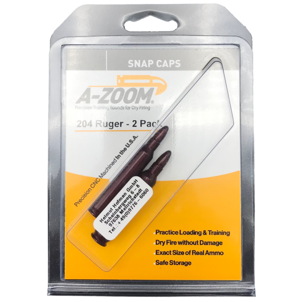 A-Zoom Pufferpatrone Kal. 204 Ruger (2er Packung)