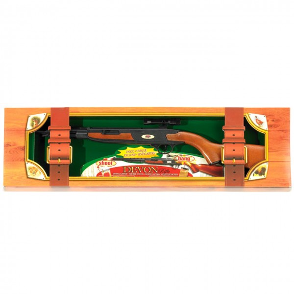 Gewehrset Devon für Gummi-Patronen oder Knallkapseln
