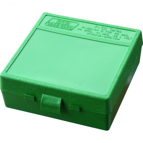 MTM Patronenbox mit Klappdeckel P-100-44