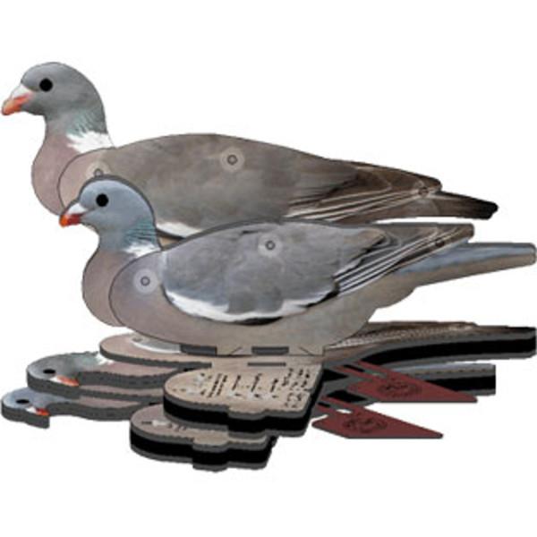 NRA Lockvogel Taube auffaltbar (6 Stück)