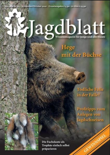 Jagdblatt - Wissensmagazin für junge und alte Hasen