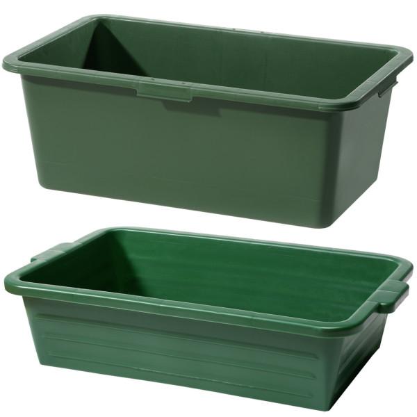 Wildwanne grün 75 x 46,5 x 19,5 cm