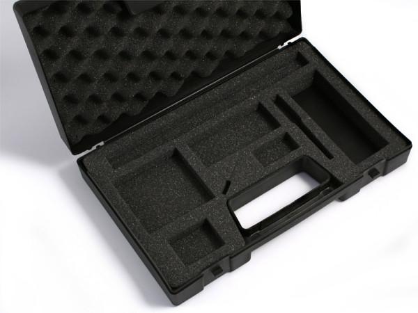 Kunststoffkoffer mit Einlage 33 x 21 cm