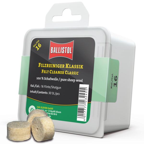 Ballistol Filz Reiniger Klassik Kal. Schrot 16 - 30 Stück