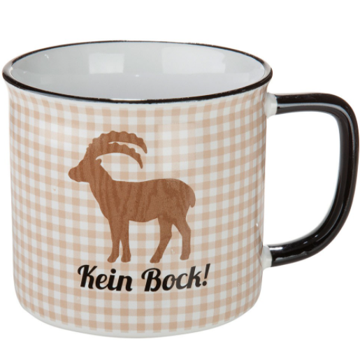 "Tasse ""Kein Bock!"""
