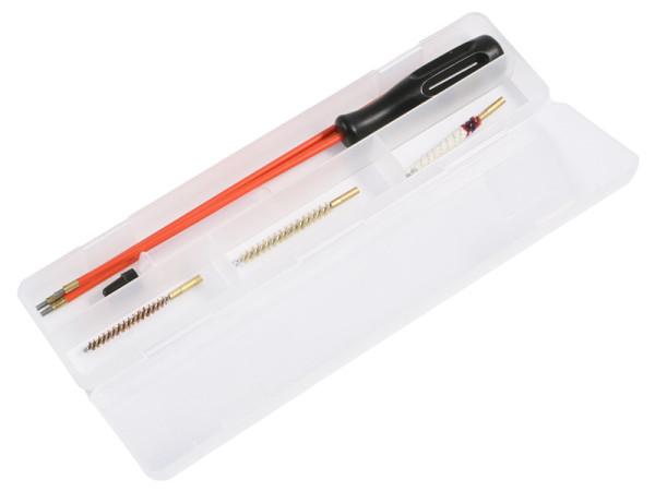 Waffenreinigungsset Kal. 4,5 mm für Luftgewehre in der Kunststoffbox mit Öltube