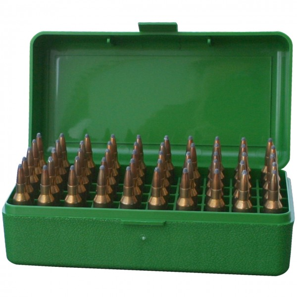 MTM Patronenbox mit Klappdeckel RSLD-50