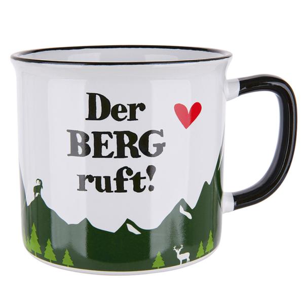 """Tasse """"Der Berg ruft!"""""""