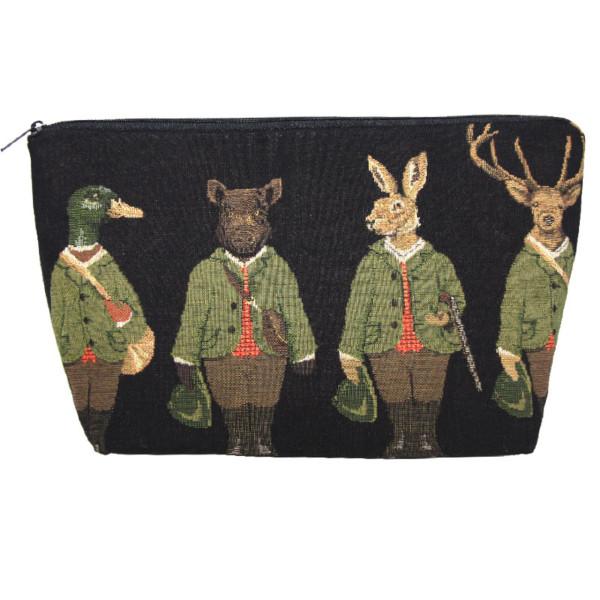 Kulturtasche aus Baumwolle - Best Friends