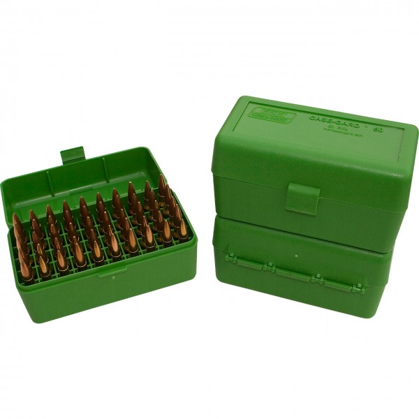 MTM Patronenbox mit Klappdeckel RS-50
