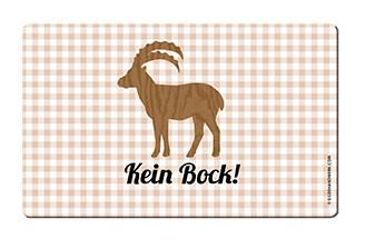 """Brettchen """"Kein Bock"""""""