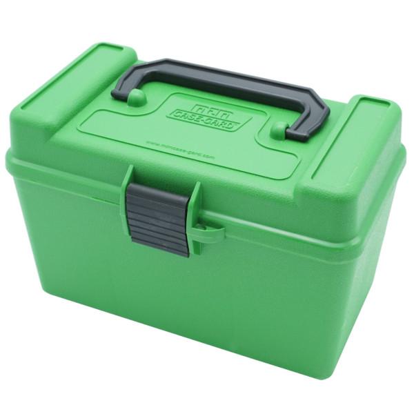 MTM Patronenbox mit Klappdeckel H50-R-MAG